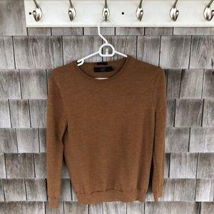 Tan J.Crew Sweater